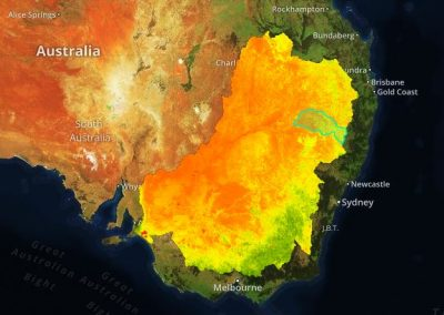 Ecometrica Platform Streams Satellite Data to Monitor & Model Drought