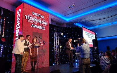 Ecometrica named Digital Technology Business of the Year 2019!